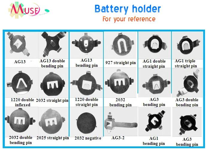 Battery Holder For Pcb